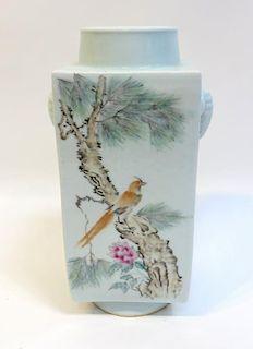 20th C. Republic Period Porcelain Vase