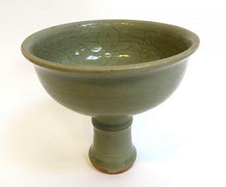 Ming Celadon High Bowl