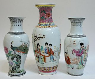 Miscellaneous Porcelain Vases
