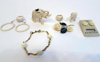 Bone Jewelry, Small Items