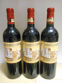 Chateau Ducru-Beaucaillou, St Julien 2eme Cru 2000, six bottles (ex. The Wine Society) <br>