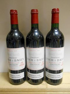 Chateau Lynch-Bages, Pauillac 5eme Cru 2000, six bottles (ex. The Wine Society) <br>