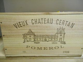 Vieux Chateau Certan, Pomerol 1998, six bottle owc (ex. The Wine Society) <br>
