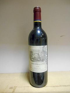 Carruades de Lafite, Pauillac 1995, one bottle (high fill, slightly damaged label) <br>
