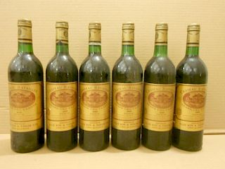 Chateau Batailley, Pauillac 5eme Cru 1983, twelve bottles. Removed from a college cellar <br>