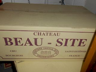 Château Beau Site, St Estephe 2009, twelve bottles in original carton. Removed from a College cellar