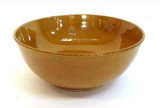 Chinese Yellow Glaze Bowl