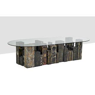 PAUL EVANS Important Skyline dining table