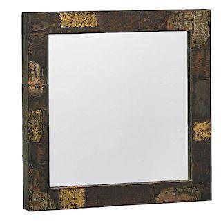 PAUL EVANS Patchwork mirror