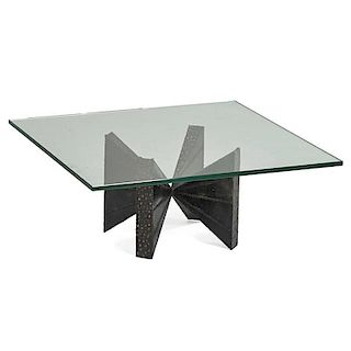 PAUL EVANS; DIRECTIONAL Coffee table