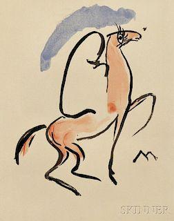 Kees van Dongen (Dutch, 1877-1968)      Cavalier Arabe