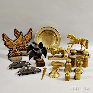 Twenty Mostly Brass Items