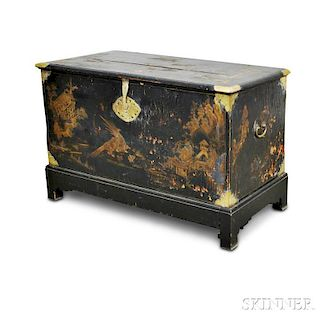 Chinese Export Lacquered Chest