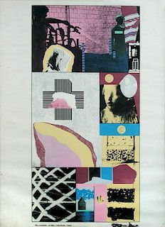 R B Kitaj (American, 1932-2007) Republic of the Southern Cross, 1965 inscribed in ink with title low