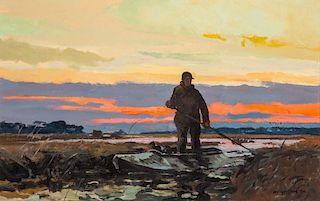 Chet Reneson (b. 1934) Marsh Hunter