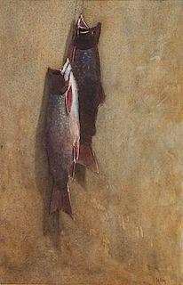 Thomas Aquinas Daly (b. 1937) Labrador Fish