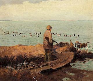 Lynn Bogue Hunt (1878-1960) Broadbills - The Tenth Bird