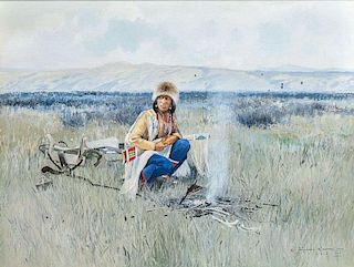 Michael Coleman (b. 1946) Buffalo Meat