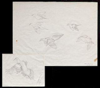 Owen Gromme (1896-1991) Mourning Doves