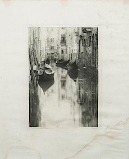 Alfred Stieglitz (1864-1946): A Bit of Venice