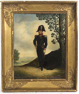 Artist Unknown, (19th century), Portrait of Napoleon