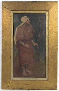 Artist Unknown, (Continental, 19th century), Study of an Arab, 1896-7