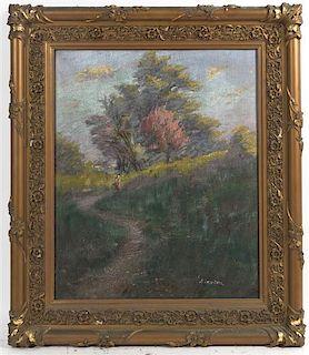 A. Rosenthal, (20th century), Landscape