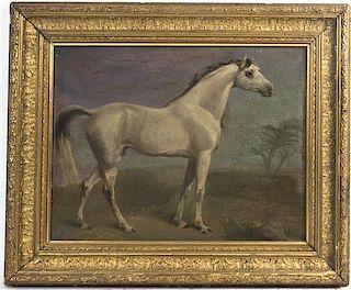 Artist Unknown, (19th century), Portrait of a Horse