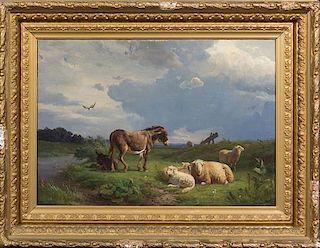 Willem Tjarda van Starckenborgh Stachouwer, (Dutch, 1823-1885), Pastoral Scene