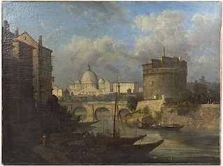 Artist Unknown, (19th century), View of Rome