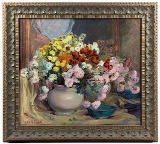 Adele von Helmond Reed, (American, b. 1858), Floral Still Life
