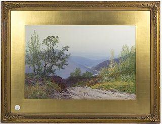 Frederick John Widgery, (English, b. 1861), Dartmoor Valley