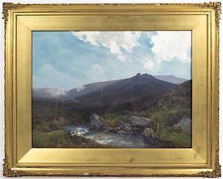 Frederick John Widgery, (British, 1861-1942), Sydford Moors Dunsmoor