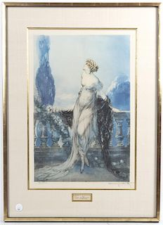 Louis Icart, (French, 1888-1950), Werther, 1928