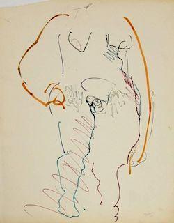Dan Basen Drawing, Original Work