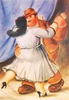 Fernando Botero Print, Signed Edition