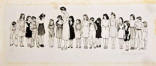 Norman Rockwell Lithograph, Signed Edition