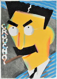 Seymour Chwast 'O' Series Silkscreens, Signed Editions