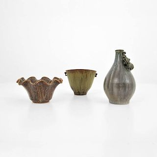 Collection of Arne Bang Vessels