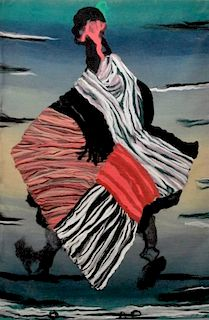 Large Ana Piksiades Tapestry, Original Work