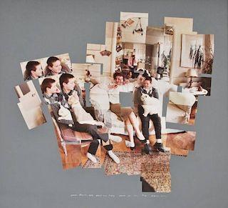 David Hockney Chromogenic Print Collage