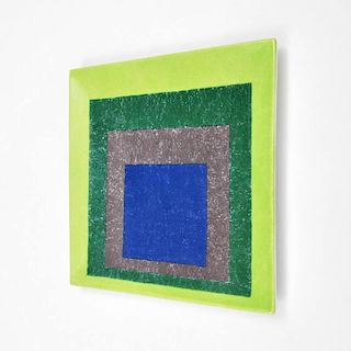 Josef Albers Platter (After), Limited Edition