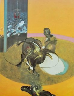 Francis Bacon 'Study for Bull' Poster