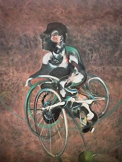 Francis Bacon 'Georges a Bicyclette' Poster