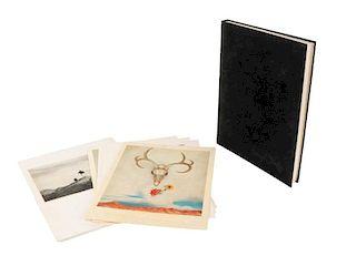 """Georgia O'Keeffe Signed """"A Studio Book"""" Portfolio"""
