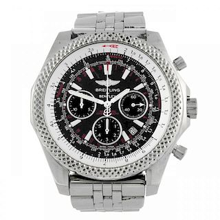 BREITLING - a gentleman's Breitling for Bentley Motor Speed chronograph bracelet watch. Stainless st