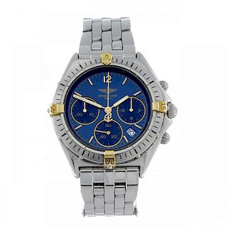 BREITLING - a gentleman's Windrider Chrono Sextent chronograph bracelet watch. Stainless steel case