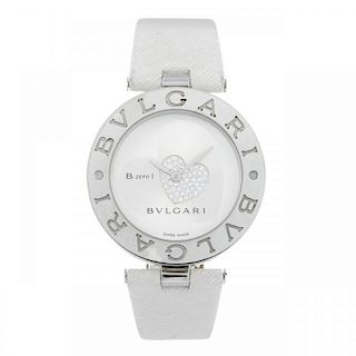 BULGARI - a lady's B.zero1 wrist watch. Stainless steel case. Reference BZ35S, serial D4900. Signed