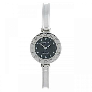 BULGARI - a lady's B.zero1 bangle watch. Stainless steel case. Reference BZ22S, serial D177045. Sign