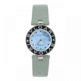 BULGARI - a lady's B.Zero 1 wrist watch. Stainless steel case. Reference BZ 22 S, serial D108980. Si